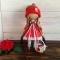 Купить Кукла интерьерная текстильная, Кукольный дом, Куклы и игрушки ручной работы. Мастер Елена Малинина (malinina74) . авторская кукла