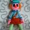 Купить Клоун Мотя, Вязаные, Человечки, Куклы и игрушки ручной работы. Мастер Юлия  (July) . вязанная кукла