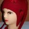 Купить Шапочка для девочки с косичками (двойная), Шапочки, шарфики, Одежда унисекс, Работы для детей ручной работы. Мастер Ольга  (Nito4ka) . женская шапка