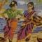 Купить Набор для вышивания Женщины-рыбаки, Промышленные, Наборы для вышивания, Вышивка ручной работы. Мастер Анастасия Федотова (yanifertiti) . мулине