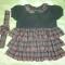 Купить Шерстяное платье для малышки, Платья, Одежда для девочек, Работы для детей ручной работы. Мастер Ирина  (MIrina) . в клеточку