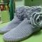 Купить Вязаные ботиночки, Летняя обувь, Обувь ручной работы. Мастер Надежда Зыбина (89293221436) .
