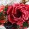 Купить Брошь-заколка роза Шелковый сад Цветы из ткани, Текстильные, Броши, Украшения ручной работы. Мастер Лариса Шушпанова (LShushpanova) . купить цветы из ткани