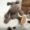 Купить Бегемотик ручной работы, Другие животные, Зверята, Куклы и игрушки ручной работы. Мастер Татьяна Богданова (TottiToys) . бегемот