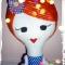Купить Длинноногая кукла, Куклы Тильды, Куклы и игрушки ручной работы. Мастер Nadin R (Nadin) . авторская кукла