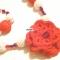 Купить Страсть Вязаные бусы и браслет, Вязаные, Комплекты украшений, Украшения ручной работы. Мастер Лилия Кропивницкая (LiLuK) . ярко-красный