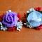 Купить Резинка, Заколки, Детская бижутерия, Работы для детей ручной работы. Мастер Таня Жорновецька (Tany1993) . цветы из фоамирана
