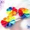 Купить Комплектик Цветик-Разноцветик, Текстильные, Комплекты украшений, Украшения ручной работы. Мастер Зоя Полунчаеа (zoechka19) .