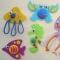 Купить Игрушки на магнитах МОРСКОЙ МИР (наборы для творчества), Развивающие игрушки, Куклы и игрушки ручной работы. Мастер Елена Птичкина (Hvostiki) . игрушка