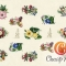 Купить Декупажная карта Цветочный аромат формат А4, Промышленные, Декупажные салфетки, Декупаж и роспись ручной работы. Мастер   (cheap-art) . декупажная карта