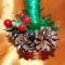 Купить Новогодний топиарий Рождественская звезда, Новогодний интерьер, Новый год, Подарки к праздникам ручной работы. Мастер Светлана Журавлёва (zchuravlik27) . дерево счастья