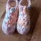 Купить Тапочки следки крючком , Домашние тапочки, Обувь ручной работы. Мастер Екатерина Мугденко (Ekaterinam) . женские носки