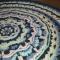 Купить Трикотажный вязаный ковер, Ковры, Текстиль, ковры, Для дома и интерьера ручной работы. Мастер Татьяна Тюль (Kikongwe) .