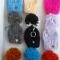 Купить Оригинальные связанные брелочки для ключей, Ключницы, Прихожая, Для дома и интерьера ручной работы. Мастер Лада Санарова (RomashkaLada) .