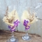 Купить Сельский шик, Свадебные бокалы, Свадебные аксессуары, Свадебный салон ручной работы. Мастер Евгения  (Akvamarelka) . бокалы для жениха и невесты