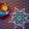 Купить Снежинка Восторг, Подарки к праздникам ручной работы. Мастер Анна Савельева (Savanna) . фриволите