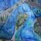 Купить mother-Bluebird, Зонты, Аксессуары ручной работы. Мастер Александра Васильева (Vasilisa) . павлин
