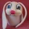 Купить шапка Голова зайца, Приколы, Сувениры и подарки ручной работы. Мастер Елена Ильина (lozayka) . трикотаж