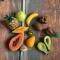 Купить Счётный игровой набор Тропические фрукты и овощи (55 предметов), Развивающие игрушки, Куклы и игрушки ручной работы. Мастер Юлия Коцюба (julkich) . кукольная миниатюра