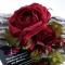 Купить Шелковая бутоньерка Forever, Текстильные, Броши, Украшения ручной работы. Мастер Лариса Шушпанова (LShushpanova) . купить цветы из ткани