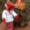 Купить Деревенская лисичка, Друзья Тедди, Мишки Тедди, Куклы и игрушки ручной работы. Мастер Надежда Федорова (lisichka) . авторские игрушки
