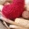 Купить Сердечки блестящие плюшевые, Сувениры и подарки ручной работы. Мастер Ольга Ершова (olka25) . в подарок девочке