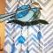 Купить Витражная подвеска Птица, Для дома и интерьера ручной работы. Мастер Гульназ Калимуллина (kalimullaart) .