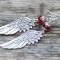 Купить Серьги-крылья 1, Серьги, Украшения ручной работы. Мастер Лилия Лилия (Liliya) .