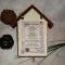 Купить Ключница Рецепт счастливого дома, Ключницы, Прихожая, Для дома и интерьера ручной работы. Мастер Ольга  (g8442) . для дома