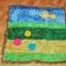 Купить Коврик для игр, Вязаные, Пледы и одеяла, Работы для детей ручной работы. Мастер Юлия Матросова (matrosova) . одеяло коврик