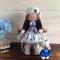 Купить Кукла интерьерная текстильная 27см, Куклы Тильды, Куклы и игрушки ручной работы. Мастер Елена Малинина (malinina74) . кукла текстильная