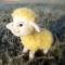 Купить Овечка валяная из шерсти, Другие животные, Зверята, Куклы и игрушки ручной работы. Мастер Елена Минаева (elemina) .