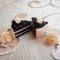 Купить Серьги Шоколадный тортик с розой, Полимерная глина, Серьги, Украшения ручной работы. Мастер Ольга Акимова (lanaleya) . серьги