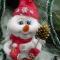 Купить Снеговик, Мультяшные, Сказочные персонажи, Куклы и игрушки ручной работы. Мастер Ольга Красницкая (krasoliadoll) . бязь синтепон хлопок шерсть