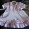 Купить Крестильное платье, Одежда для девочек, Работы для детей ручной работы. Мастер Светлана Глазунова (kler24) . крестилно платье