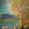 Купить Кувшинки, Пейзаж, Картины и панно ручной работы. Мастер Александр Костенко (kostenko67) .