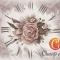 Купить Декупажная карта Винтажный циферблат с орхидеями формат А4, Промышленные, Декупажные салфетки, Декупаж и роспись ручной работы. Мастер   (cheap-art) . декупажная карта