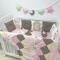 Купить бортики в кроватку, Для новорожденных, Работы для детей ручной работы. Мастер Екатерина Суховерхова (aka-light) .