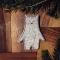 Купить Брошь Белый Медведь, Деревянные, Броши, Украшения ручной работы. Мастер Татьяна Бармина (Ansem) . береза