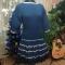 Купить Платье Юбка клеш, Вязаные, Вечерние, Платья, Одежда ручной работы. Мастер Лариса Блинкова (larusya) . авторская ручная работа