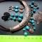 Купить Колье на шнурах  На море-окияне, Поделочные камни, Камни и жемчуг, Колье, бусы, Украшения ручной работы. Мастер Светлана Капишникова (na-zolotom) . этно-стиль