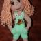 Купить Куколка Настенька, Вязаные, Человечки, Куклы и игрушки ручной работы. Мастер Оленька Богачева (Olenka1405) . игрушка ручной работы