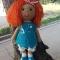 Купить кукла вязаная интерьерная , Сувениры и подарки ручной работы. Мастер Алена Дремина (AlenaDan) . авторский подарок
