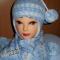 Купить Комплект Зимний, Шапочки, шарфики, Одежда унисекс, Работы для детей ручной работы. Мастер Ольга  (Nito4ka) . детская шапка