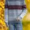 Купить Мужской свитер с орнаментом, Свитера, Для мужчин, Одежда ручной работы. Мастер Владимир  (Skiff) . нарядный мужской свитер