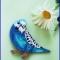 Купить Брошь Попугайчик, Текстильные, Броши, Украшения ручной работы. Мастер Ольга Яковлева (oni) . брошь