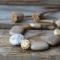 Купить Браслет После дождя, Поделочные камни, Камни и жемчуг, Браслеты, Украшения ручной работы. Мастер Елена Христинич (khelena) .