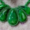 Купить Зеленое лето, Смешанная техника, Кулоны, подвески, Украшения ручной работы. Мастер Наталья Стародубова (vasha-nata) . зеленый цвет