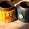 Купить Вязаная кружка Раф кофе, Кружки и чашки, Посуда ручной работы. Мастер Анастасия Ворон (WollandClay) .