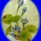 Купить Водная лилия из капрона, Из ткани и кожи, Интерьерные композиции, Цветы и флористика ручной работы. Мастер Елена Белецкая (mianamiana) .